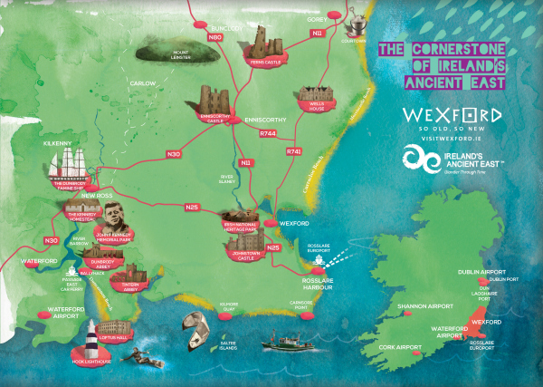 Wexford, The Cornerstone of Ireland's Ancient East