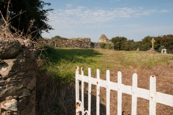 Ishartmon Church lies along the Norman Way in Wexford.