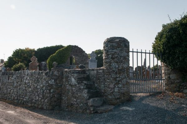 Grange Church and graveyard is a ruined medieval church and cemetery on the Norman Way in Wexford.