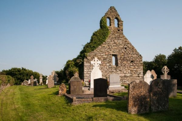 Tomhaagard is a village found along the Norman Way in Wexford, Ireland. It contains a holy well and a ruined medieval church with a double bellcote..