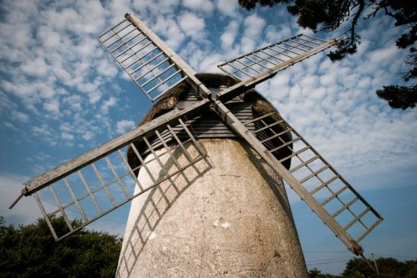 Tacumshane Windmill is in the parish of Tacumshin in Wexford and can be found along the Norman Way.
